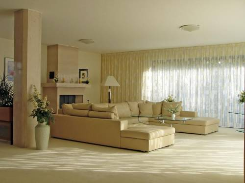 Просторная и уютная гостиная
